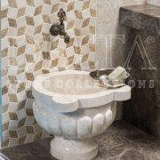 ILICA KLASİK TRV Patlatma 3x4.8x15 Traverten Mozaik