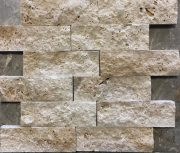 Mozaik Patlatma Klasik Traverten Taş