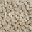 KLASİK KÜBİK Patlatma 3x2.3x2.3 Traverten Mozaik