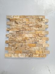 Mozaik Patlatma Taş Mistik Traverten