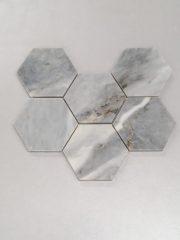 Mozaik Cilalı Taş Bardiglio Mermer